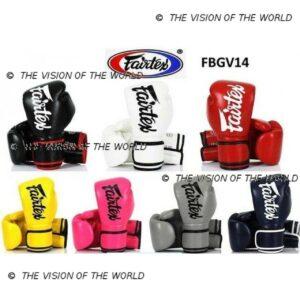 Gants Fairtex BGV14 boxe thai muay thai mma kick boxing savate