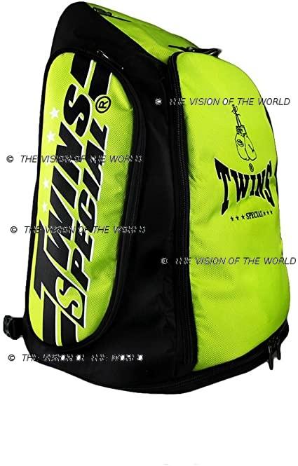 sac a dos Twins bag 5 jaune
