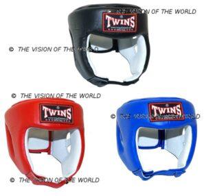 Casque Twins HGL4 casque pour sparring entrainements et homologuée pour la compétition