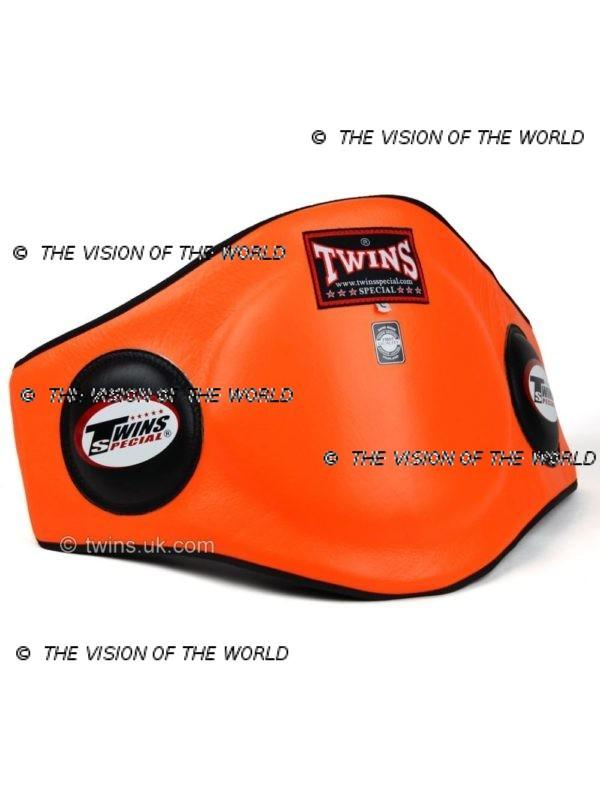 Ceinture de protection Twins BEPL2 coachs entraineur de boxe thai muay thai kick boxing Mma Boxe anglaise orange