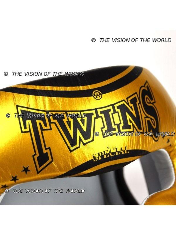 Casque de boxe Twins TW4 sparring boxe thai mma kick boxing boxe anglaise
