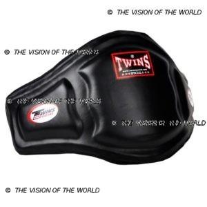 Ceinture de protection Twins BEPL3 coachs entraineur de boxe thai muay thai kick boxing Mma Boxe anglaise noir profil