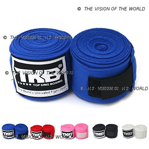 bandes top king bleu muay thai kick boxing mma boxe anglaise boxe thai boxe pieds-poings