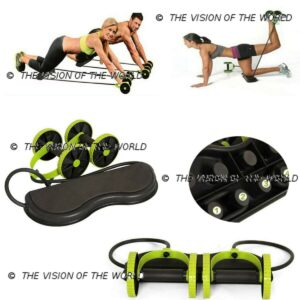 Roller Fit AB Wheel fitness musculations abdos