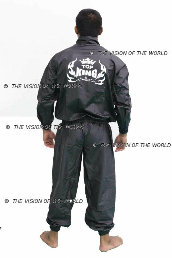 Ensemble de sudation top king muay thai kick boxing mma boxe anglaise boxe thai boxe pieds-poings perte de poids sweat suit weight cutting
