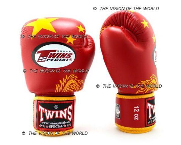 Gants de boxe Twins FBGV-44 MMA Muaythai Kickboxing Boxe Thai Chine