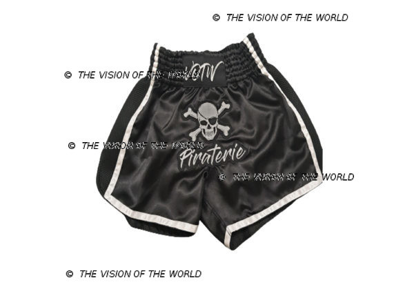 Short de boxe piraterie muaythai kickboxing boxe thai Mma K1