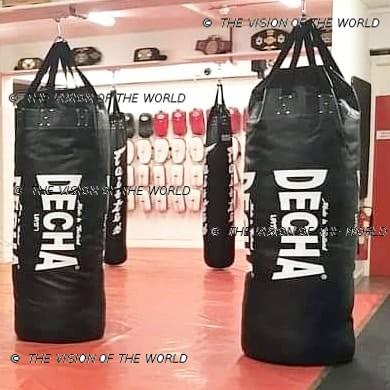 Sac de frappe decha muay thai kick boxing mma boxe anglaise boxe thai boxe pieds-poings