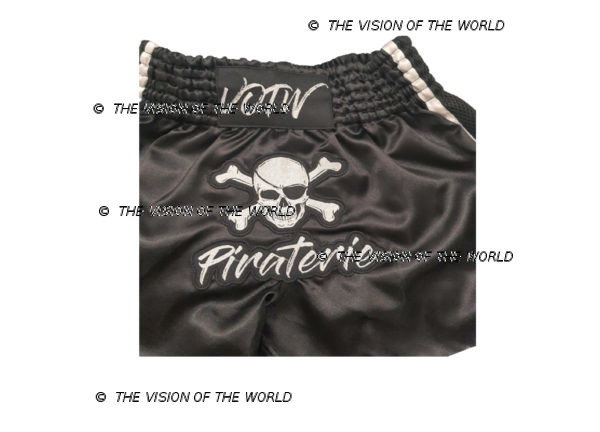 short de Boxe K1 muaythai kickboxing boxe thai pirate la piraterie