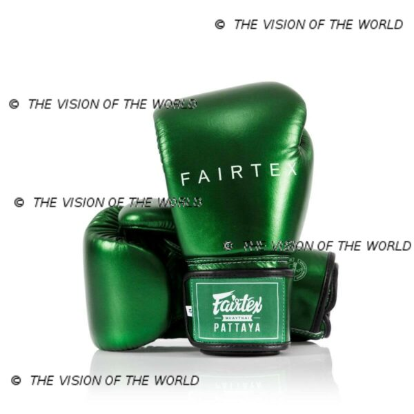 gants de boxe fairtex bgv22 metallic boxe thai muay thai kick boxing mma boxe anglaise savate K1