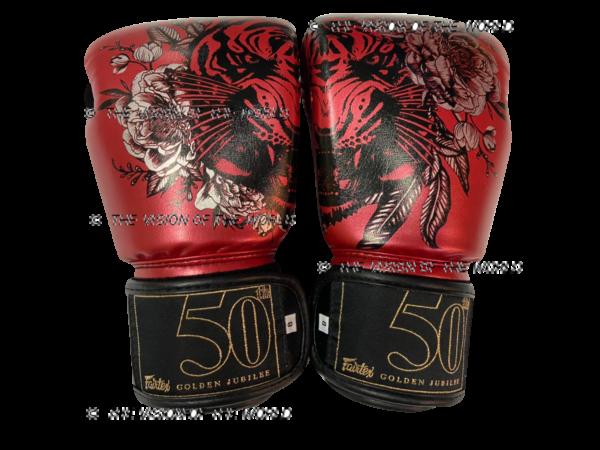 Gants Fairtex Jungle Bgv-Premium Jubiler boxe thai Muay thai Mma boxe 50ème anniversaire