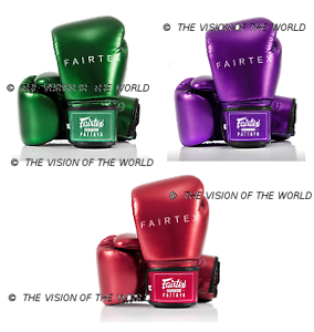 Gants de boxe fairtex bgv22 metallic