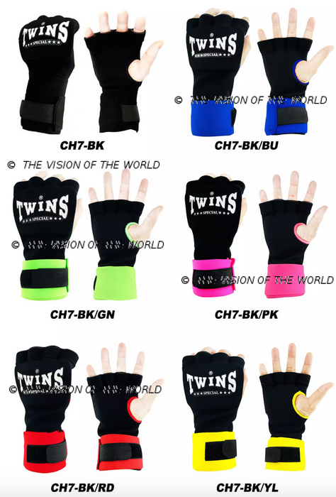 Mitaines de protection Twins CH7 muay thai kick boxing Mma boxe anglaise