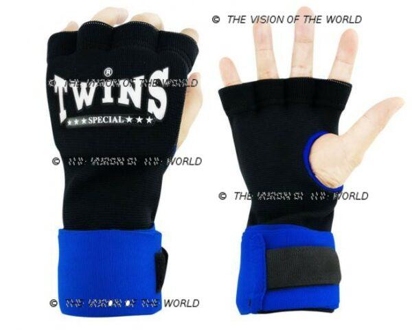 bandes CH7 twins bleu boxe thai muay thai kick boxing Mma savte boxe anglaise