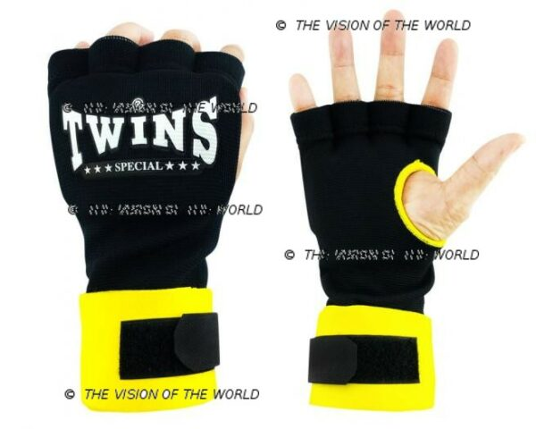 bandes CH7 twins jaune boxe thai muay thai kick boxing Mma savte boxe anglaise