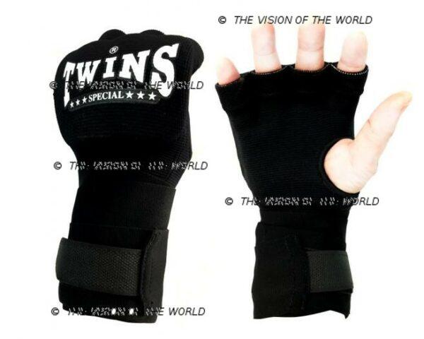 bandes CH7 twins noir boxe thai muay thai kick boxing Mma savte boxe anglaise