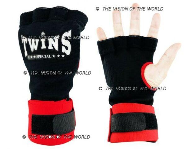 bandes CH7 twins rouge boxe thai muay thai kick boxing Mma savte boxe anglaise