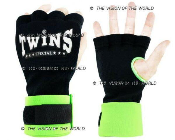 bandes CH7 twins vert boxe thai muay thai kick boxing Mma savte boxe anglaise